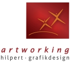 Logo der Firma artworking Hilpert - Grafikdesign